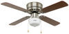 324-000034 - Cherry/Maple Blades Way Interglobal Ceiling Fan w Light Kit