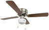 RV Ceiling Fans 324-000034 - Brushed Nickel - Way Interglobal