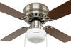 324-000034 - 4 Blades Way Interglobal RV Ceiling Fans
