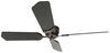 "12V RV Ceiling Fan with Wall Switch - 3 Speed - 42"" Diameter - Oil Rubbed Bronze - Black/Oak 4 Blades 324-000056"
