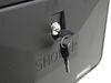 Exterior RV Shower Box - Black Black 324-000060