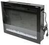 RV Fireplaces 324-000068 - Black - Greystone
