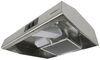 "Greystone RV Range Hood with Light - 12V - 20"" Wide - Stainless Steel 19 Inch Deep 324-000086"
