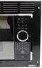 Greystone Standard RV Microwave w/ Trim Kit - 1,350 Watts - 0.9 Cu Ft - Black 0.9 Cubic Feet 324-000105