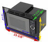 RV Microwaves 324-000105 - Built-In Microwave - Greystone