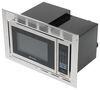 Greystone Standard RV Microwave w/ Trim Kit - 1,350 Watts - 0.9 Cu Ft - Stainless Steel 23-3/8W x 15T x 13-1/2D Inch 324-000106