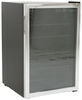 Everchill RV Wine Cooler - 46 Bottle Capacity - 4.6 Cu Ft - 115V - Stainless Steel 20-1/4W x 21D x 31-1/4T Inch 324-000113
