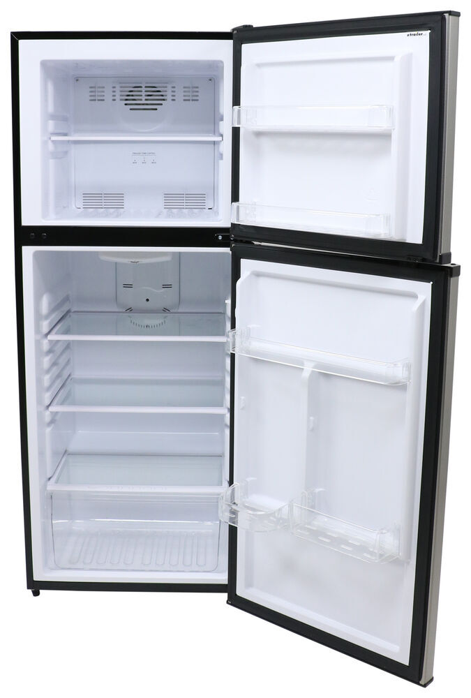 Everchill Rv Refrigerator W Freezer 10 Cu Ft 12v Stainless Steel Everchill Rv Refrigerators 324 000119