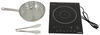 greystone rv stoves and cooktops cooktop single burner induction - 1 300 watt 120 volt