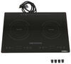 greystone rv stoves and ovens cooktop double burner induction - 1 800 watt 120 volt