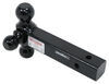 "Gen-Y 3-Ball Mount for 2"" Hitch Receivers - 2-5/16"", 2"", 1-7/8"" Balls Steel Ball 325-GH-054"