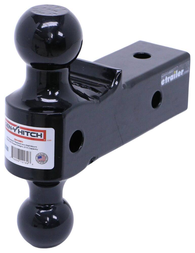 Gen-Y Hitch 2 Inch Ball,2-5/16 Inch Ball Accessories and Parts - 325-GH-061