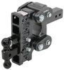 Gen-Y Hitch Stacked Receivers,Shock Absorbing,Built-In Pintle Hook Trailer Hitch Ball Mount - 325-GH-1125