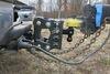 0  trailer hitch ball mount gen-y adjustable drop - 5 inch rise 2-1/2 325-gh-1224