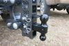 0  trailer hitch ball mount gen-y two balls drop - 5 inch rise 2-1/2 325-gh-1224