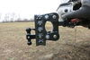 0  trailer hitch ball mount gen-y adjustable 16000 lbs gtw torsion 2-ball w/ stacked receivers - 2 inch 5 drop/rise 16k
