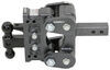"""Gen-Y Torsion 2-Ball Mount w/ Stacked Receivers - 2"""" Hitch - 5"""" Drop/Rise - 16K 16000 lbs GTW 325-GH-1224"""