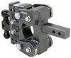 Trailer Hitch Ball Mount 325-GH-1224 - Stacked Receivers,Shock Absorbing - Gen-Y Hitch