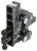 "Gen-Y Torsion 2-Ball Mount w/ Stacked Receivers - 2"" Hitch - 10"" Drop/Rise - 16K Fits 2 Inch Hitch 325-GH-1226"
