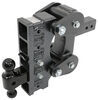 325-GH-1325 - Stacked Receivers,Shock Absorbing Gen-Y Hitch Adjustable Ball Mount