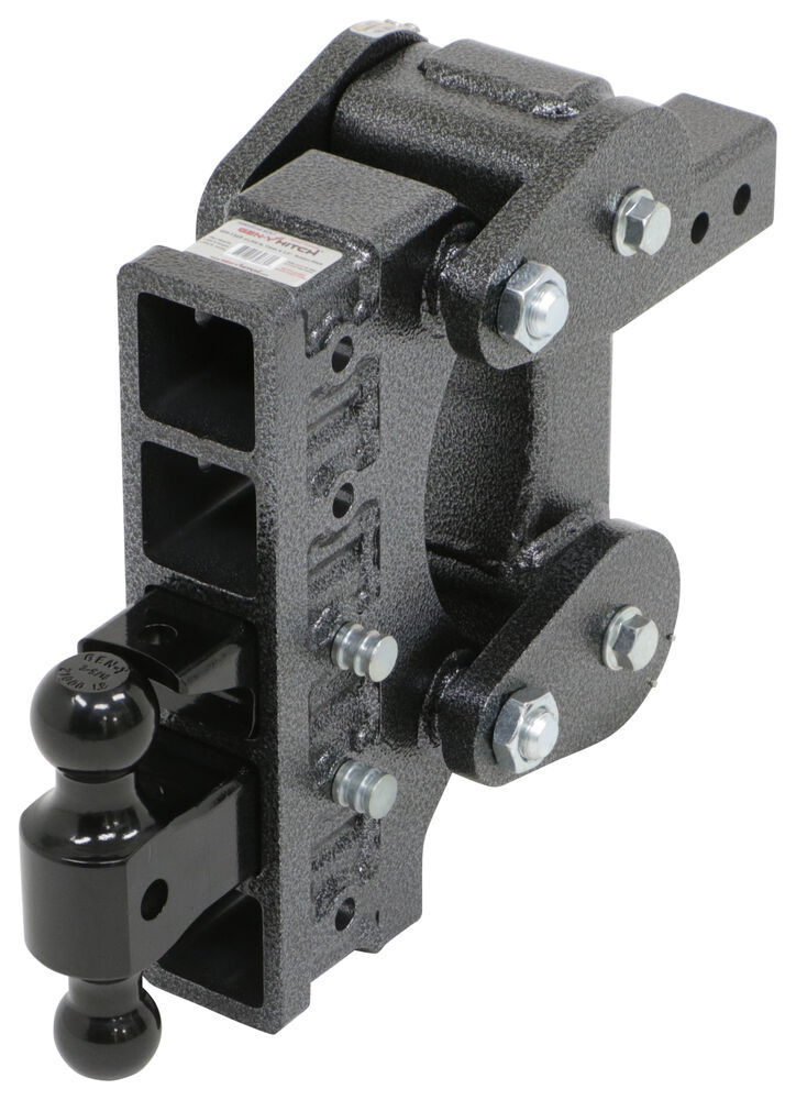 325-GH-1325 - Stacked Receivers,Shock Absorbing Gen-Y Hitch Trailer Hitch Ball Mount
