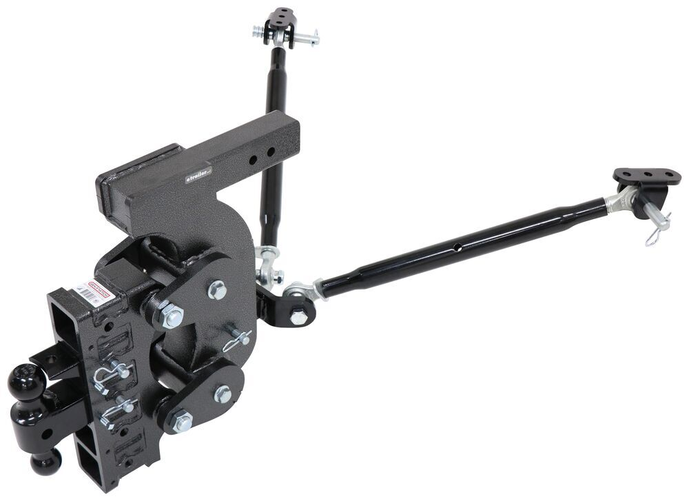 "Gen-Y Torsion 2-Ball Mount w/ Stacked Receivers - 2-1/2"" Hitch - 18"" Drop - 21K Two Balls 325-GH-1525"