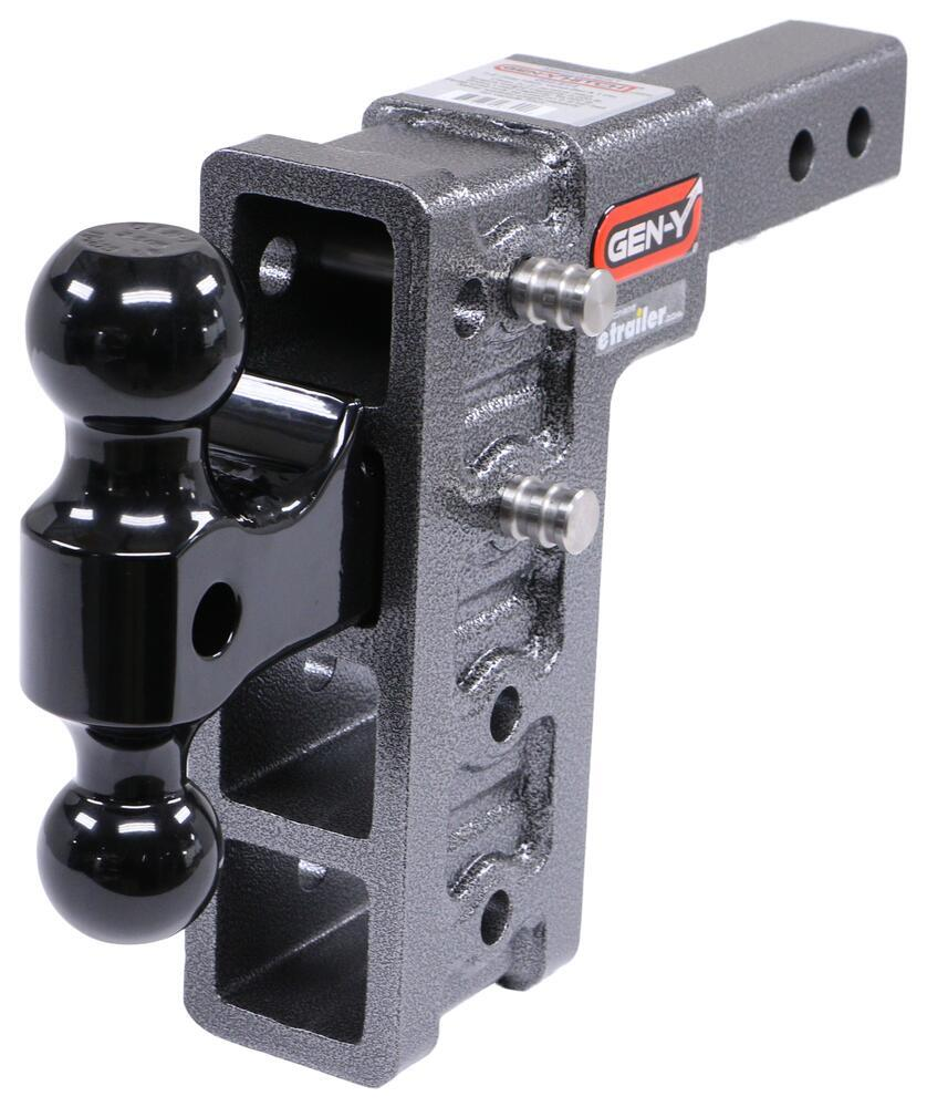 Gen-Y Hitch Stacked Receivers Trailer Hitch Ball Mount - 325-GH-514