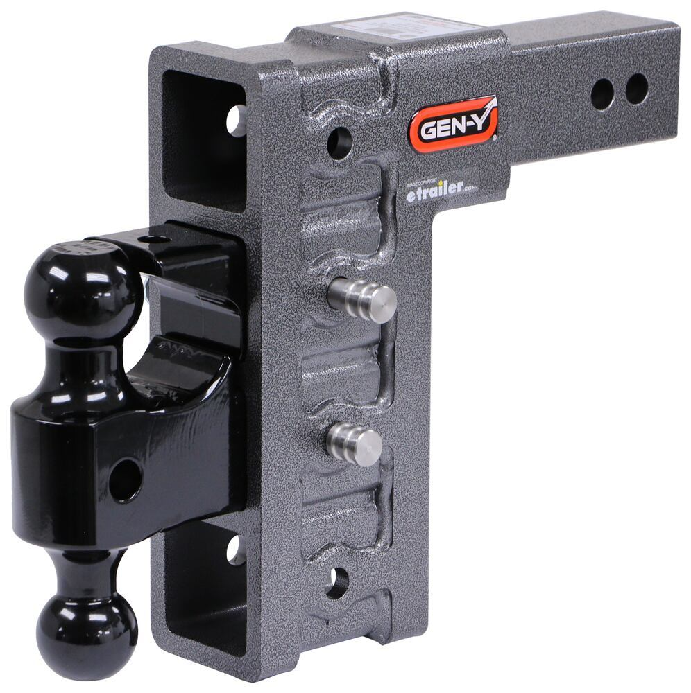 325-GH-624 - Fits 2-1/2 Inch Hitch Gen-Y Hitch Adjustable Ball Mount