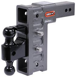 Draw-Tite 40703 3 Square Forged Class V Receiver Hitch Ball Mount 10 Drop