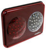 Dual LED Trailer Tail Light - Stop, Tail, Turn, Backup - Red and Clear Lens LED Light 328-003-20LE