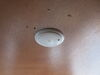 LED RV Dome Light with Switch - 204 Lumens - Surface Mount - White Bezel - Warm White 3 Inch Diameter 328-K-1003WS
