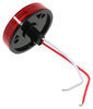 LED Trailer Clearance and Side Marker Light with Reflex Reflector - 2 Diodes - Red Lens 2-1/2 Inch Diameter 328-K-500B