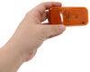 LED Trailer Clearance or Side Marker Light with Reflex Reflector - 2 Diodes - Amber Lens LED Light 328-K-58LB