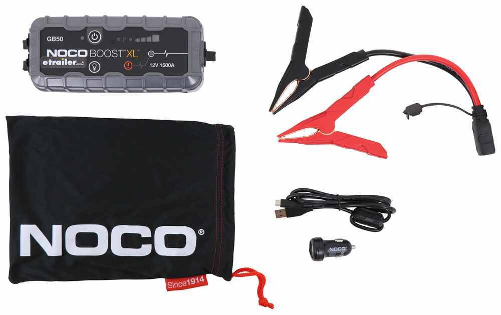 329-GB50XL - 1500 amps NOCO Jumper Cables and Starters