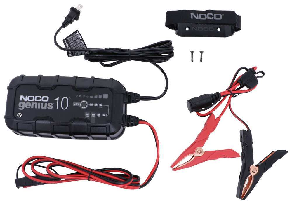 329-GENIUS10 - 230 Ah NOCO Battery Charger