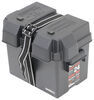 329-HM300BKS - Black Plastic NOCO Marine Battery Box,Camper Battery Box,Trailer Battery Box,Equipment Battery Box