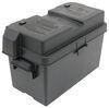 329-HM318BKS - Black Plastic NOCO Marine Battery Box,Camper Battery Box,Trailer Battery Box,Equipment Battery Box