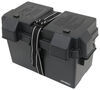 Snap-Top Battery Box with Strap for Group 24 to Group 31 Batteries - Vented Group 24 Batteries,Group 31 Batteries 329-HM318BKS