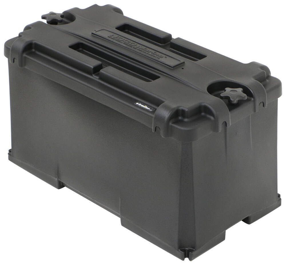 Commercial Grade Battery Box for Group 4D Batteries - Vented Group 4D Batteries 329-HM408