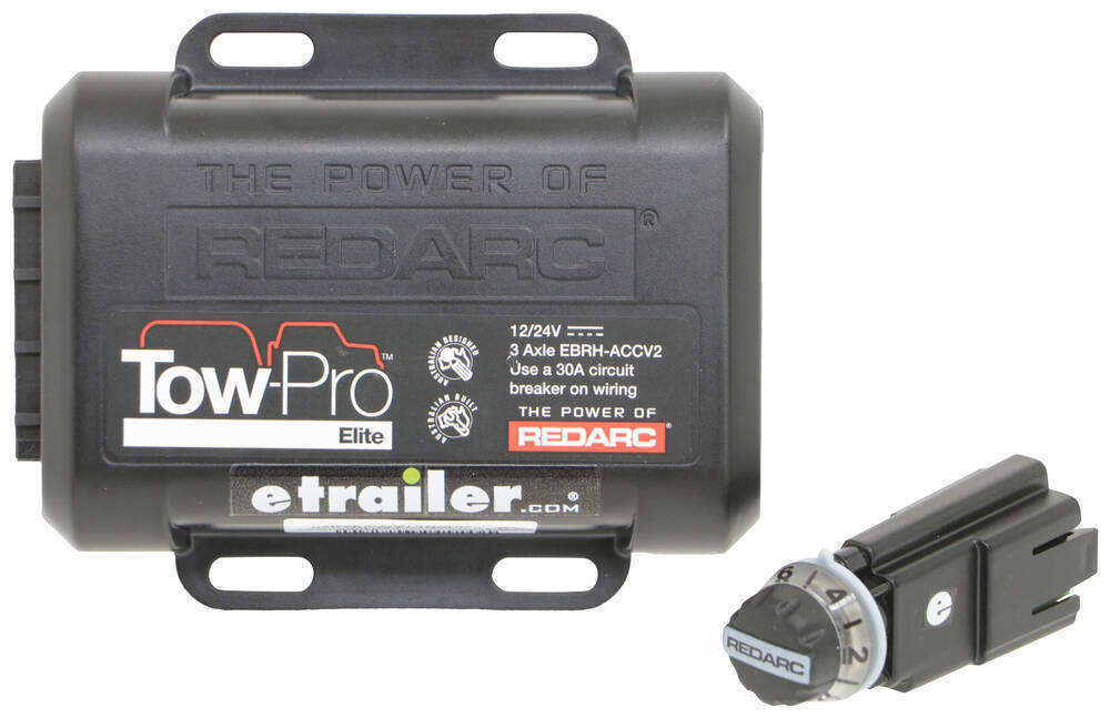 Redarc Electric,Electric over Hydraulic Trailer Brake Controller - 331-EBRH-ACCV2
