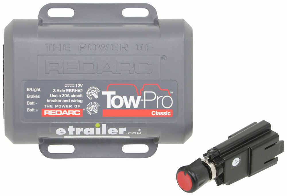 Redarc Tow-Pro Classic Trailer Brake Controller - 1 to 3 Axles - Preset 360 Degrees 331-EBRHV2