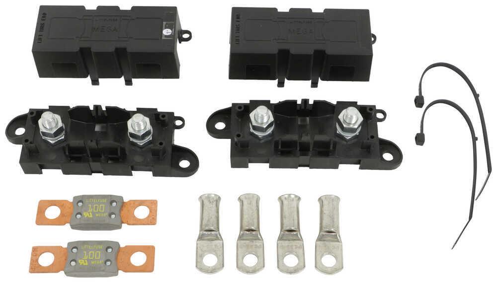 100-Amp MIDI Fuse Kit for Redarc Smart Start Battery Isolator Fuse Kit 331-FK100