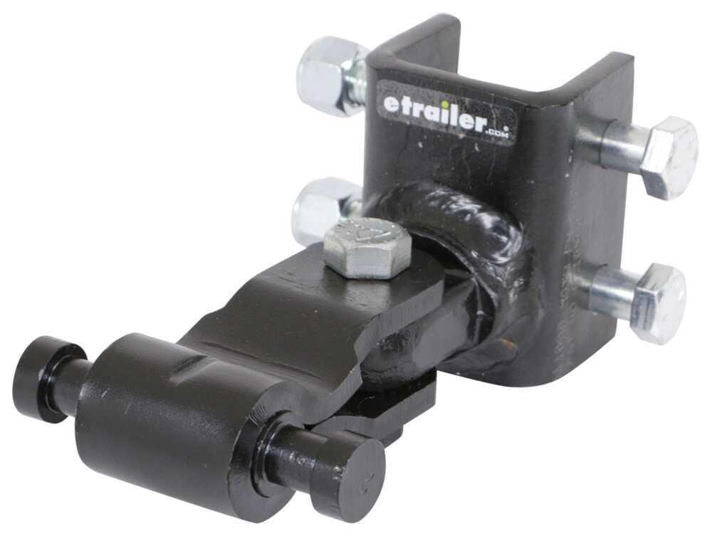 Adjustable Trailer Coupler 336TS502 - 3 Inch Height Adjustment - Lock N Roll