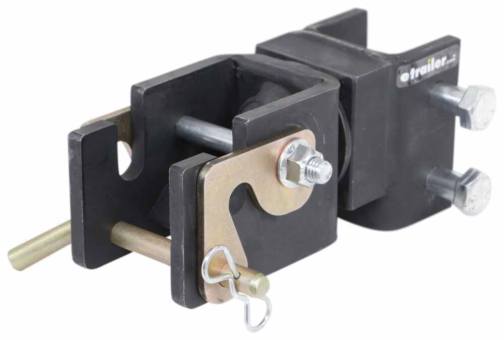 Lock N Roll Articulating Hitch - Adjustable Channel Mount - Vehicle Side - 11,000 lbs Rotating Coupler 336VS503