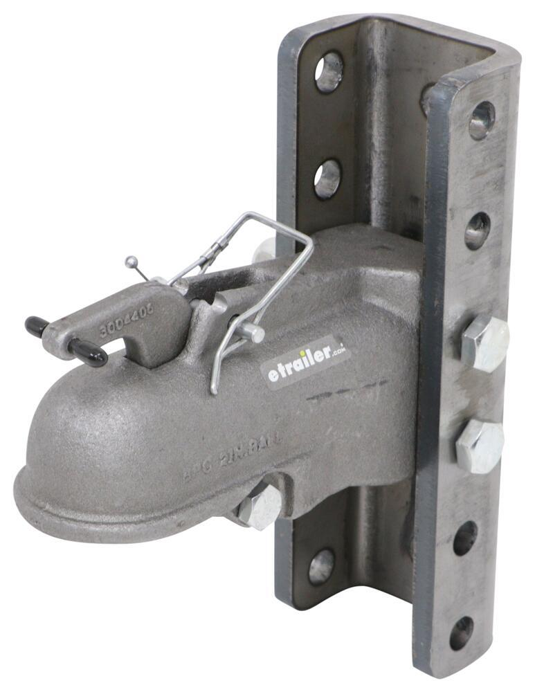 """Buyers Products Coupler w/ 5-Position Adjustable Channel - Weld-On - 2"""" Ball - 10,000 lbs 10000 lbs GTW 3370091545"""