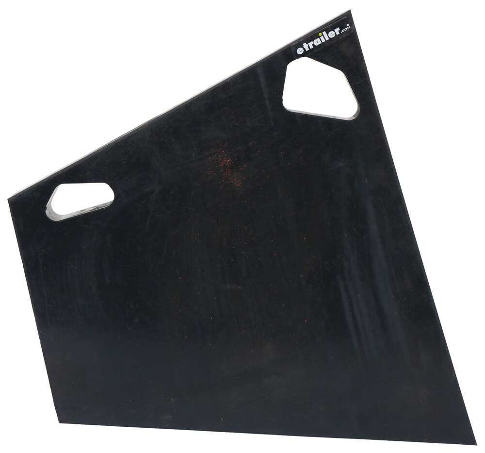 Replacement Cutting Edge Wing Extension for Boss Snow Plow - Black Urethane Cutting Edge Parts 3371304766