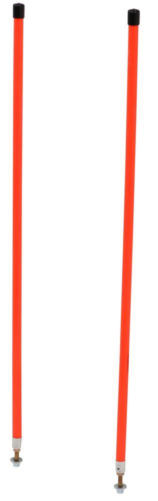 "Bolt-On Buyers #1308115 Sight Rods 3//4/"" x 48/"" Fluorescent Orange Marker Kit"
