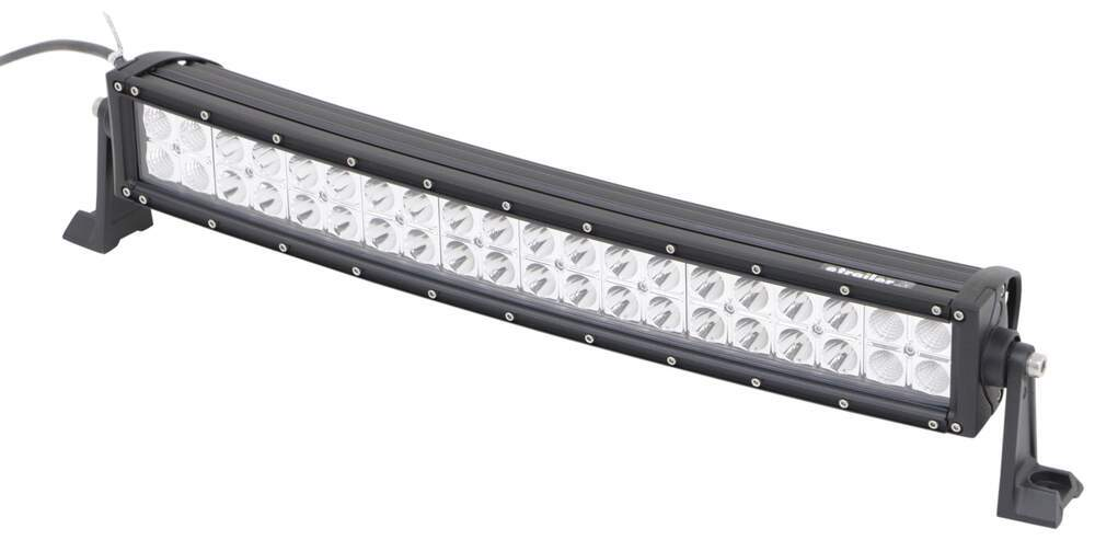 """Curved Off-Road LED Light Bar - 10,800 Lumens - Mixed Beam - Double Row - 22-1/2"""" Long Curved Light Bar 3371492172"""