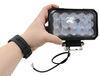 Ultra Bright LED Flood Light - 4,050 Lumens - Black Aluminum - Clear Lens - 12V/24V Rectangle 3371492190