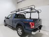 Buyers Products Over-The-Cab Truck Bed Ladder Rack - Black Steel - 1,000 lbs No-Drill Application 3371501150 on 2016 Ford F-150